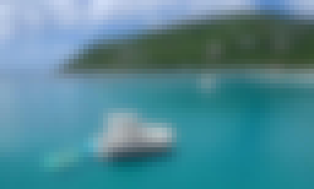Aquila 443 Disco Boat Luxury Power Catamaran in St. Thomas, U.S. Virgin Islands