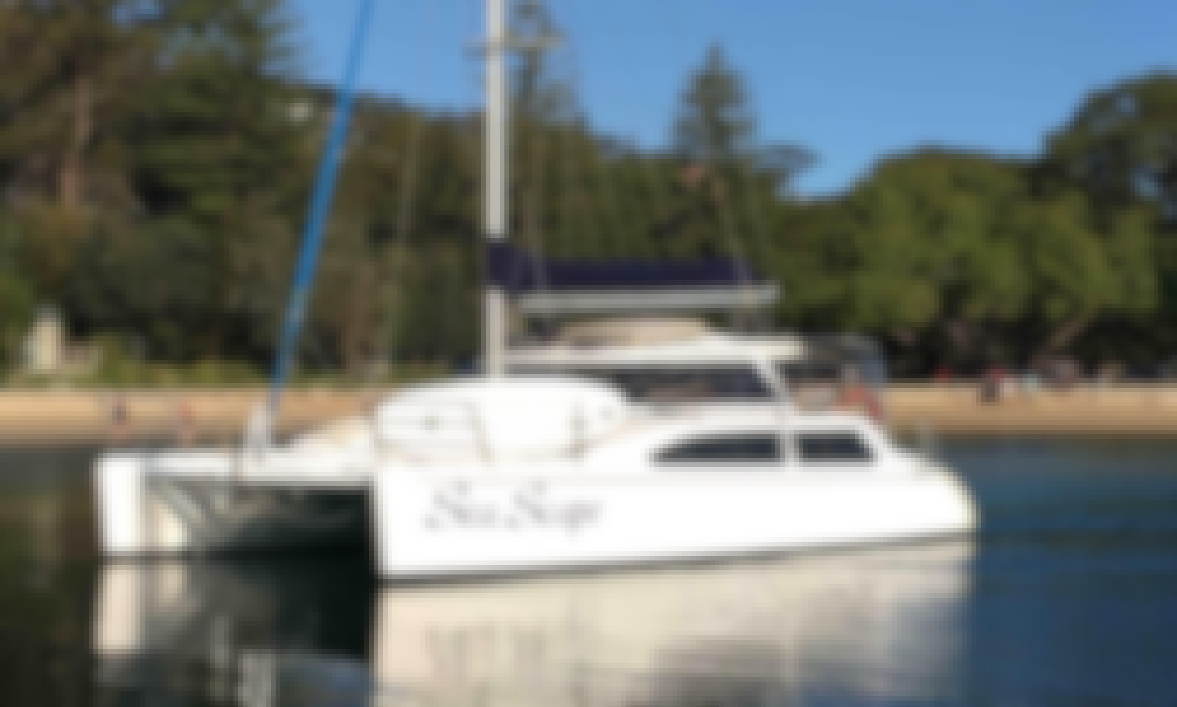 Sydney Harbour Charter on Beautiful Sailing Catamaran