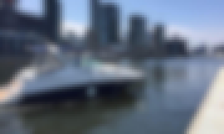 28ft Mustang Cruiser Motor Yacht Rental in Docklands, Victoria