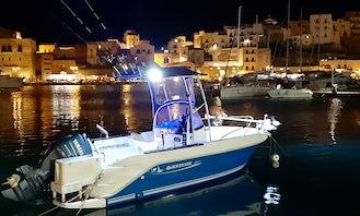 Fishing charter in Castellammare del Golfo, Sicilia with Captain Bruno