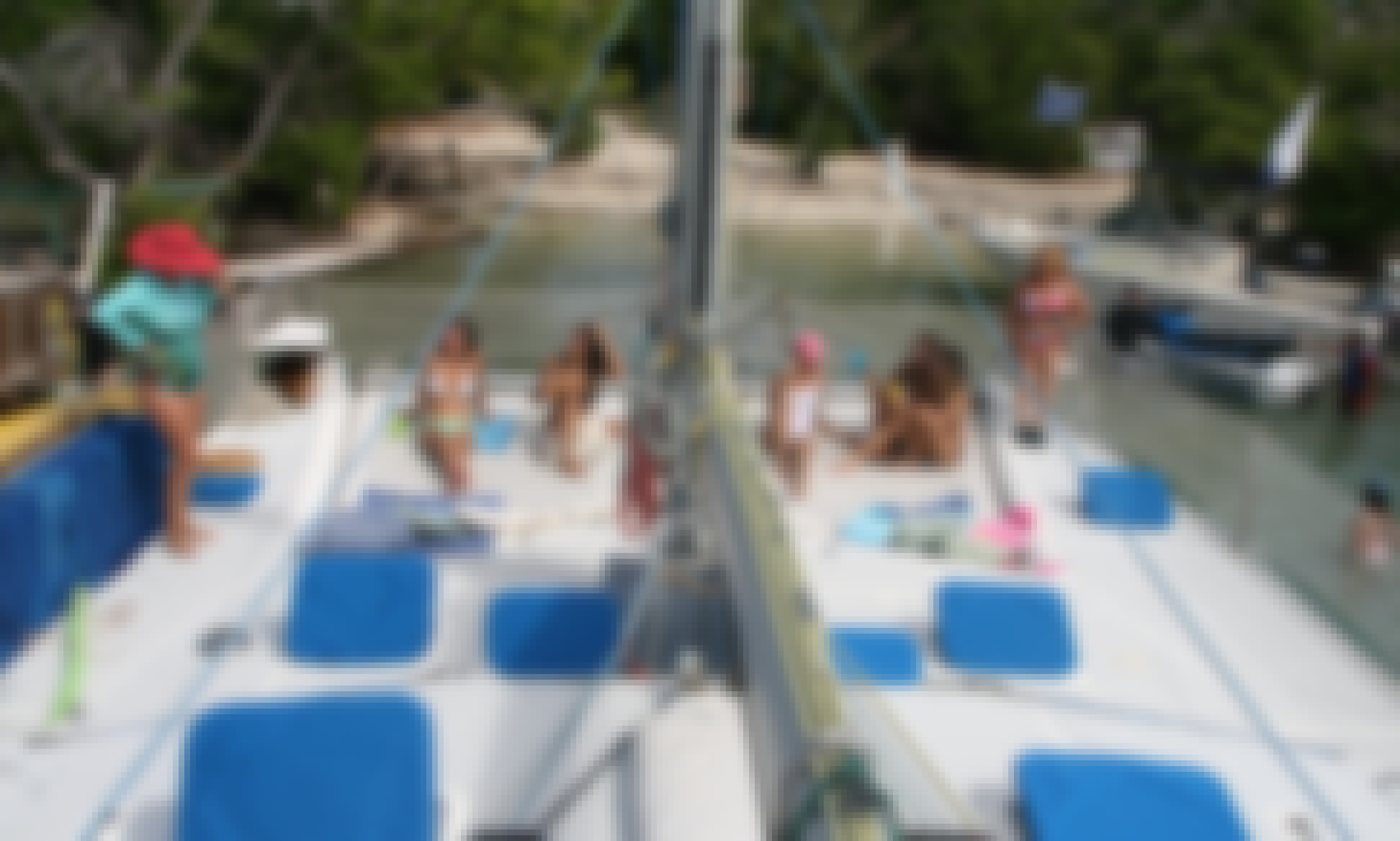 Book a the Spacious Nysna 440 Sailing Catamaran in St. Thomas