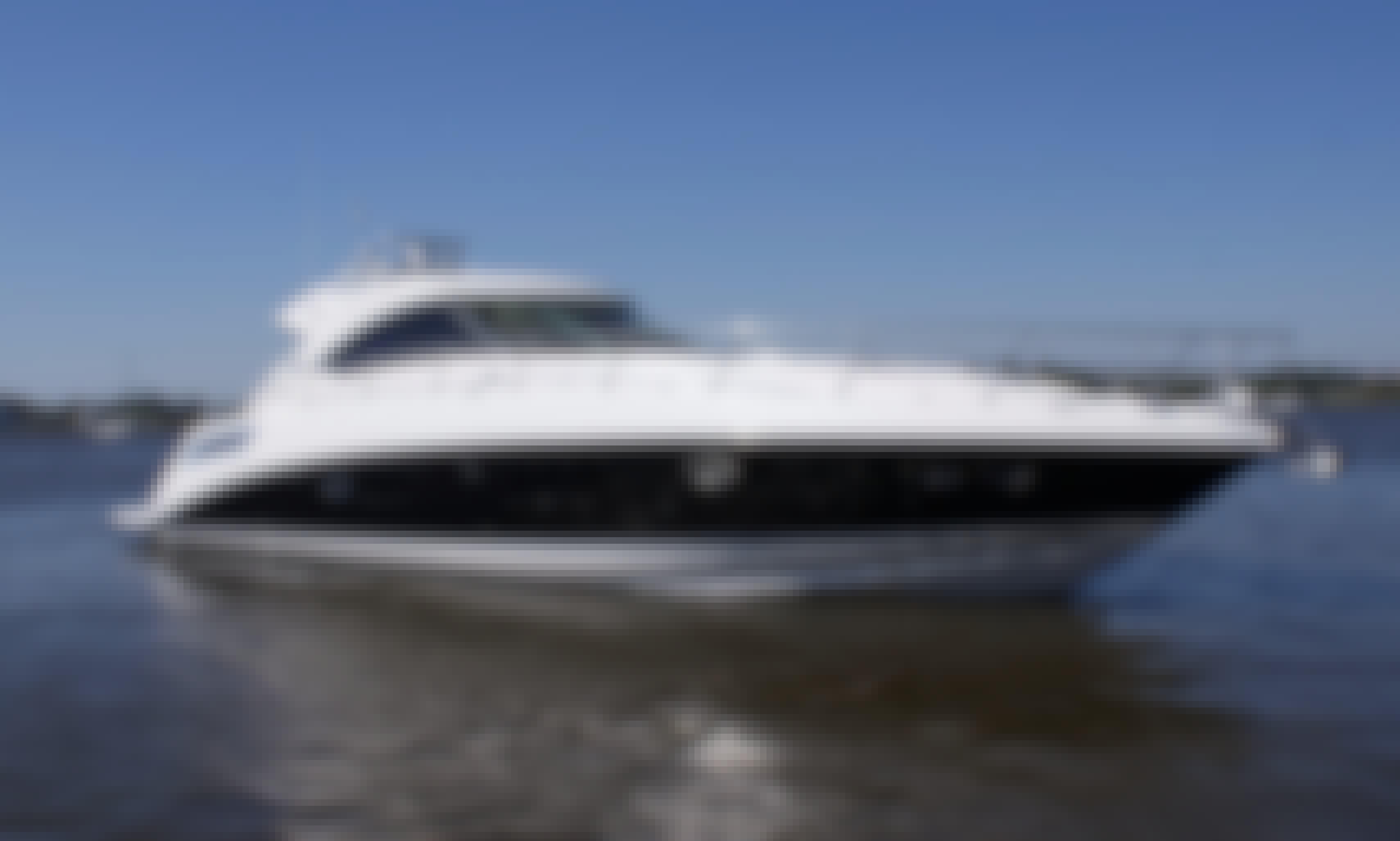 "Book the Ultra-Clean 54"" Sea Ray Cruiser in Miami Beach, Florida"
