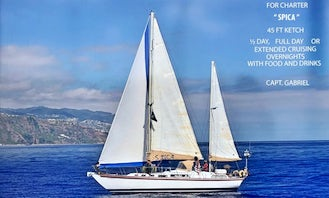 Crewed Charter on Bruce Roberts 43 Sailing Yacht in Funchal, Madeira
