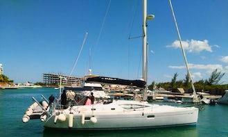 Crewed Charter On 42' Jeanneau Sun Odyssey In Cancún, Quintana Roo