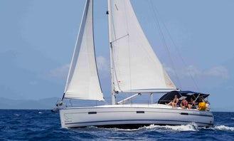 """""""Transitions"""" Bavaria 40 Cruising Monohull Rental in True Blue, Grenada"""