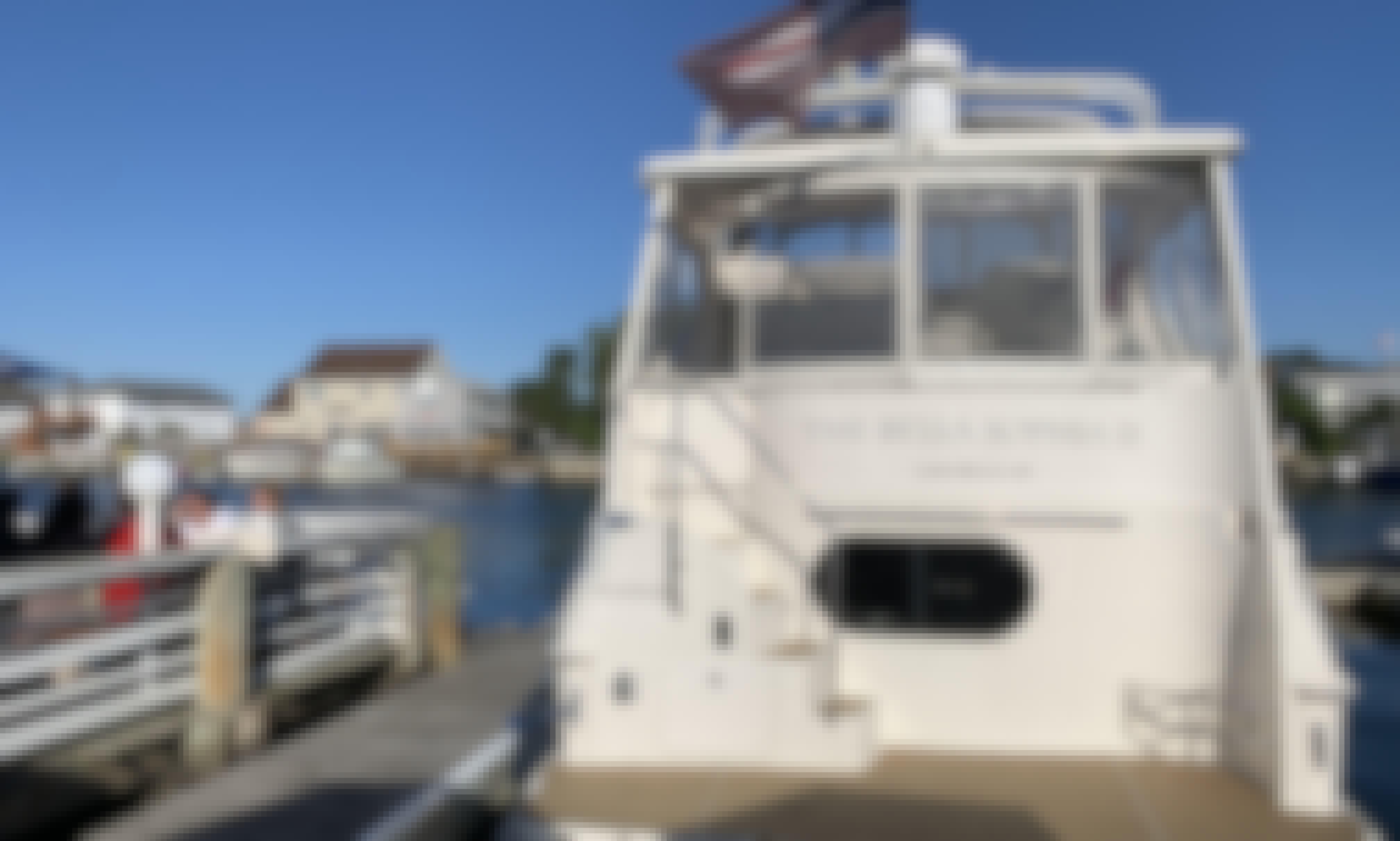 Silverton 43 Motor Yacht Rental in Island Park, New York