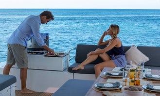 'Batamaran' Fountaine Pajot Elba 45 Cruising Catamaran Rental in True Blue, Saint George