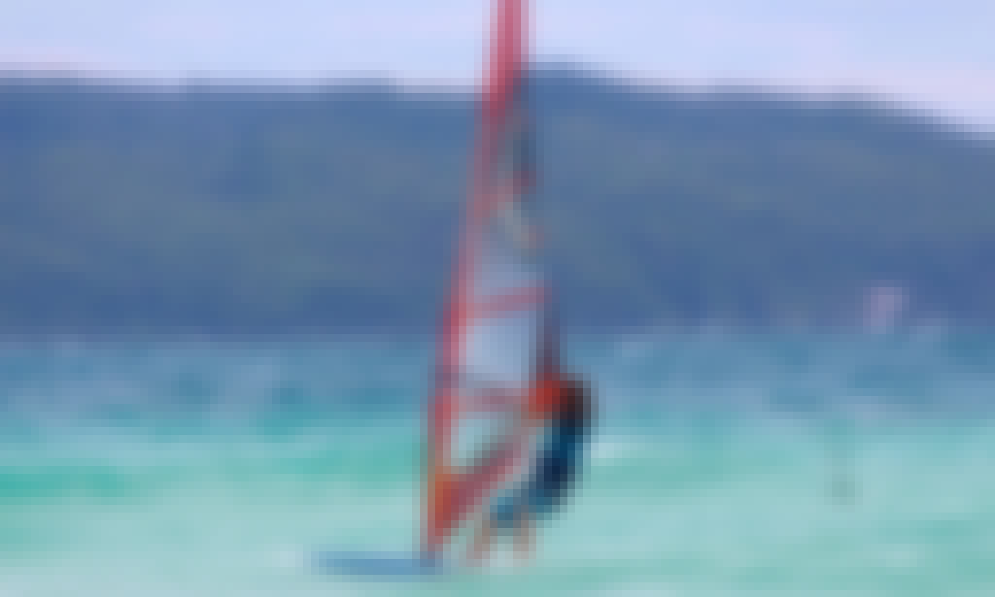 Learn to Windsurf in Malay, Western Visayas