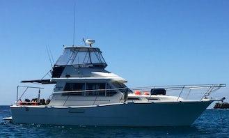 Charter Steber 36 Motor Yacht in Perth, Australia