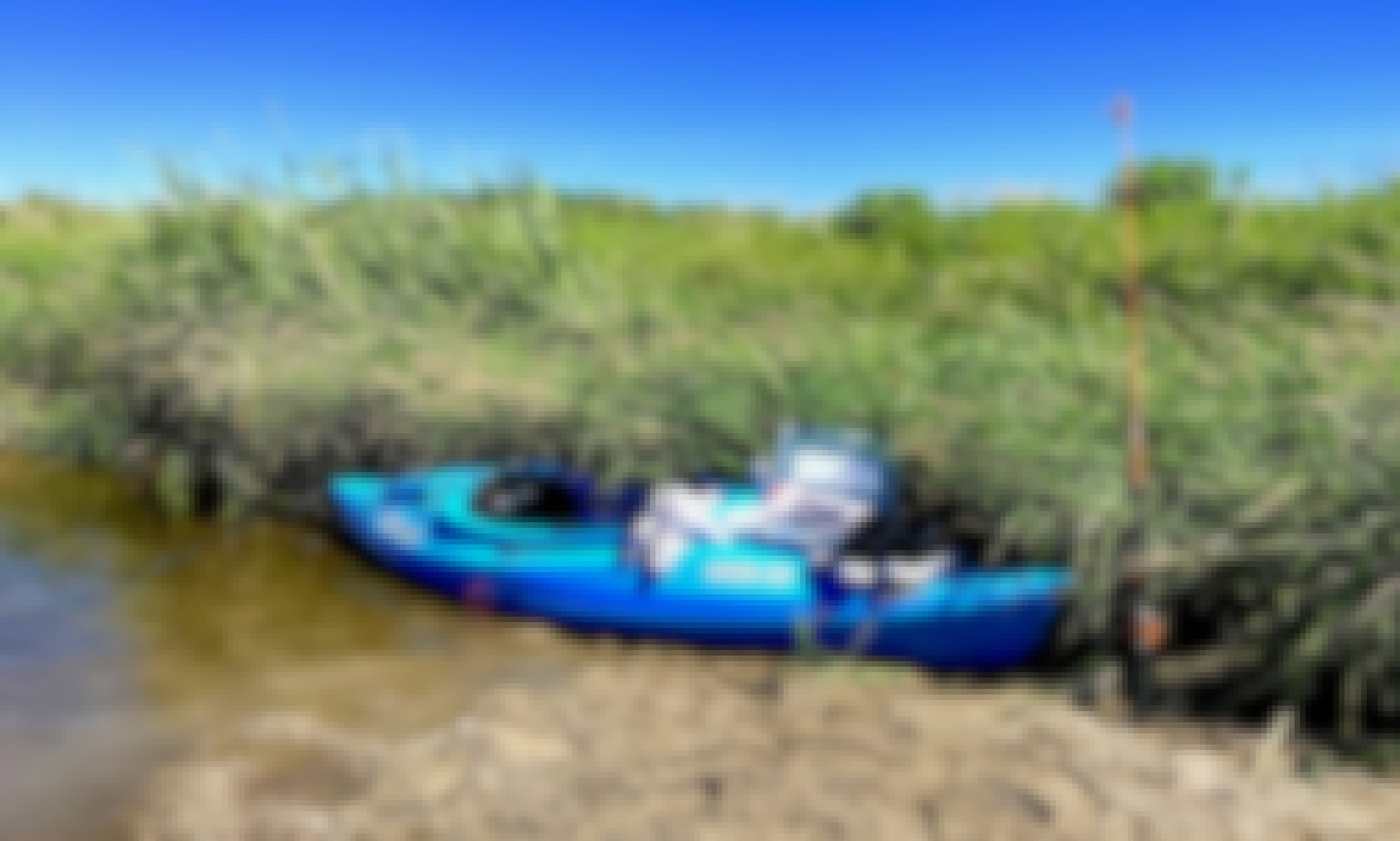 Explore in Lakemoor, Illinois Aboard a 2-Person Kayak