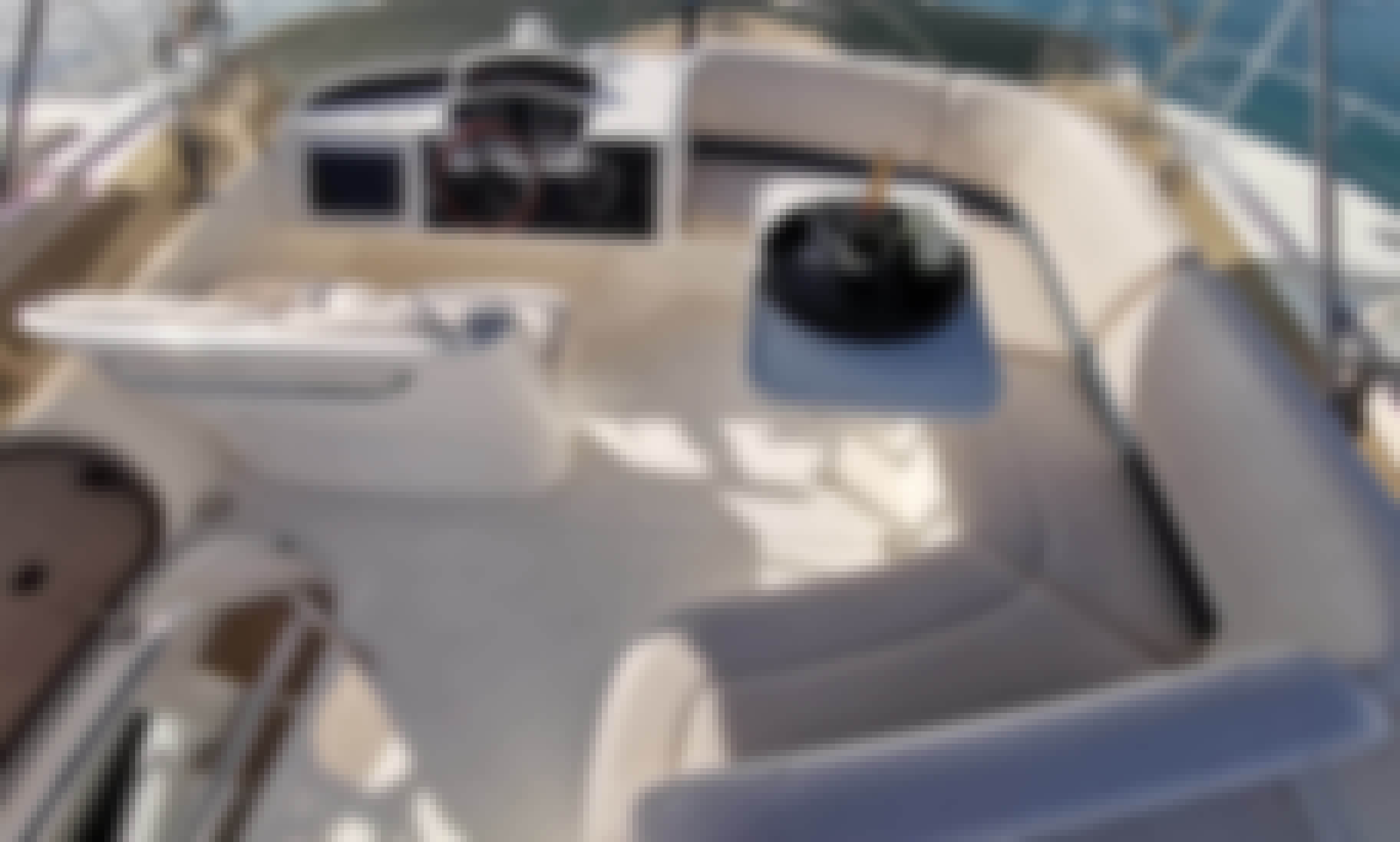 Charter a Crewed Motor Yacht Princess 42 - Touche for 6 People in Podstrana, Croatia