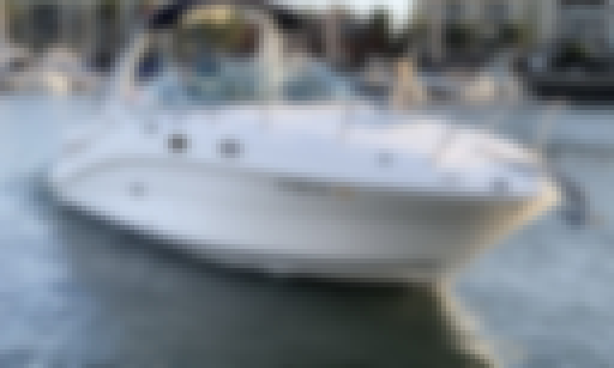 "Sea Ray Sundancer 28"" Motor Yacht In Marina Del Rey Is Waiting For You"
