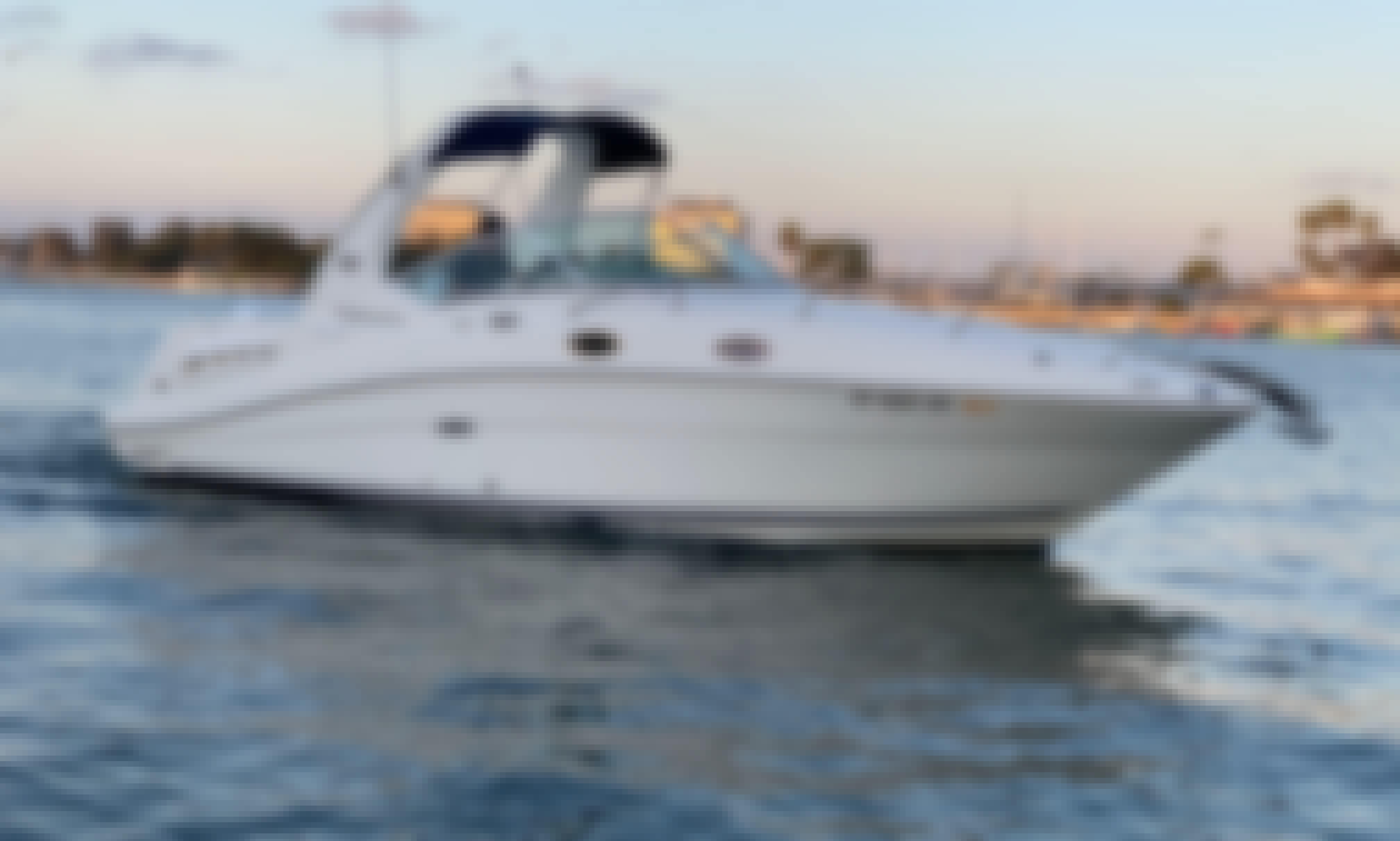 """Sea Ray Sundancer 28"""" Motor Yacht In Marina Del Rey Is Waiting For You"""