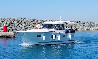 Delphia 1080S Motor Yacht at St Raphael Marina - Limassol - Ideal for Fishing, Leisure Trips and Custom Cruises