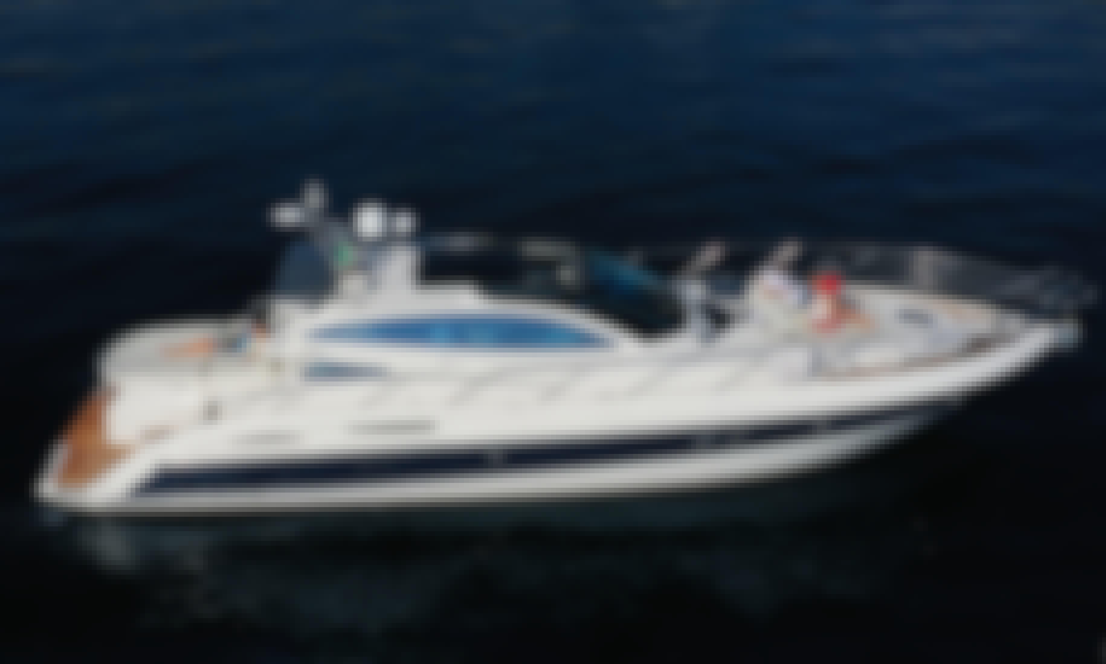 "Explore the Amalfi Coast on a 47ft ""Elite"" Motor Yacht"