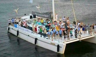 Charter a 65' Maxicat Sailing Catamaran in Cartagena, Bolívar - Perfect Party Boat!
