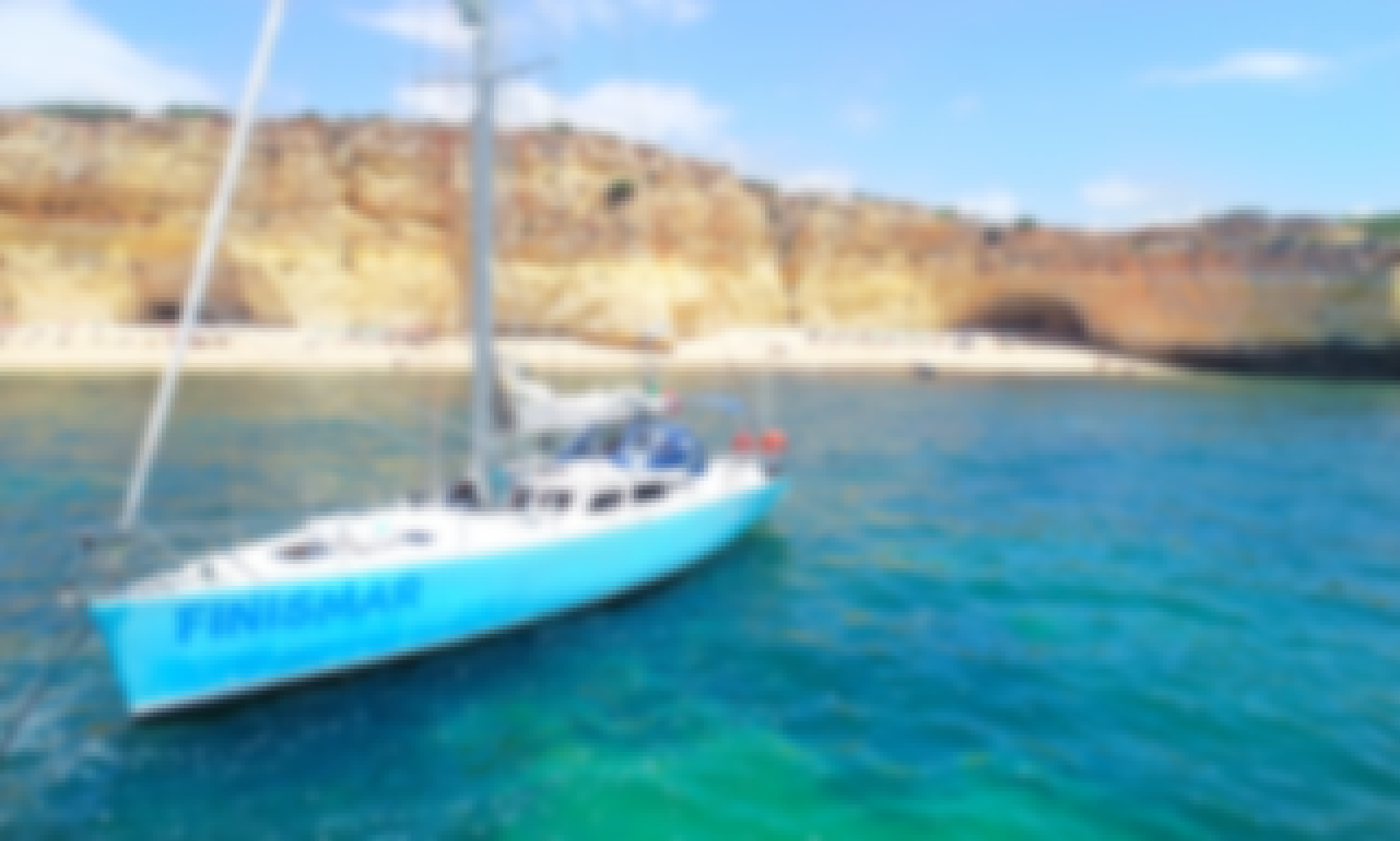 Full day Sailing with Beach BBQ in Albufeira, Faro