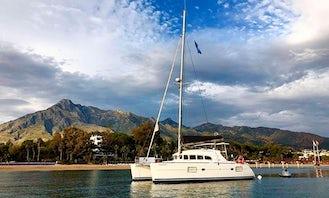 Cruising Catamaran Sighting dolphins rental in Marbella