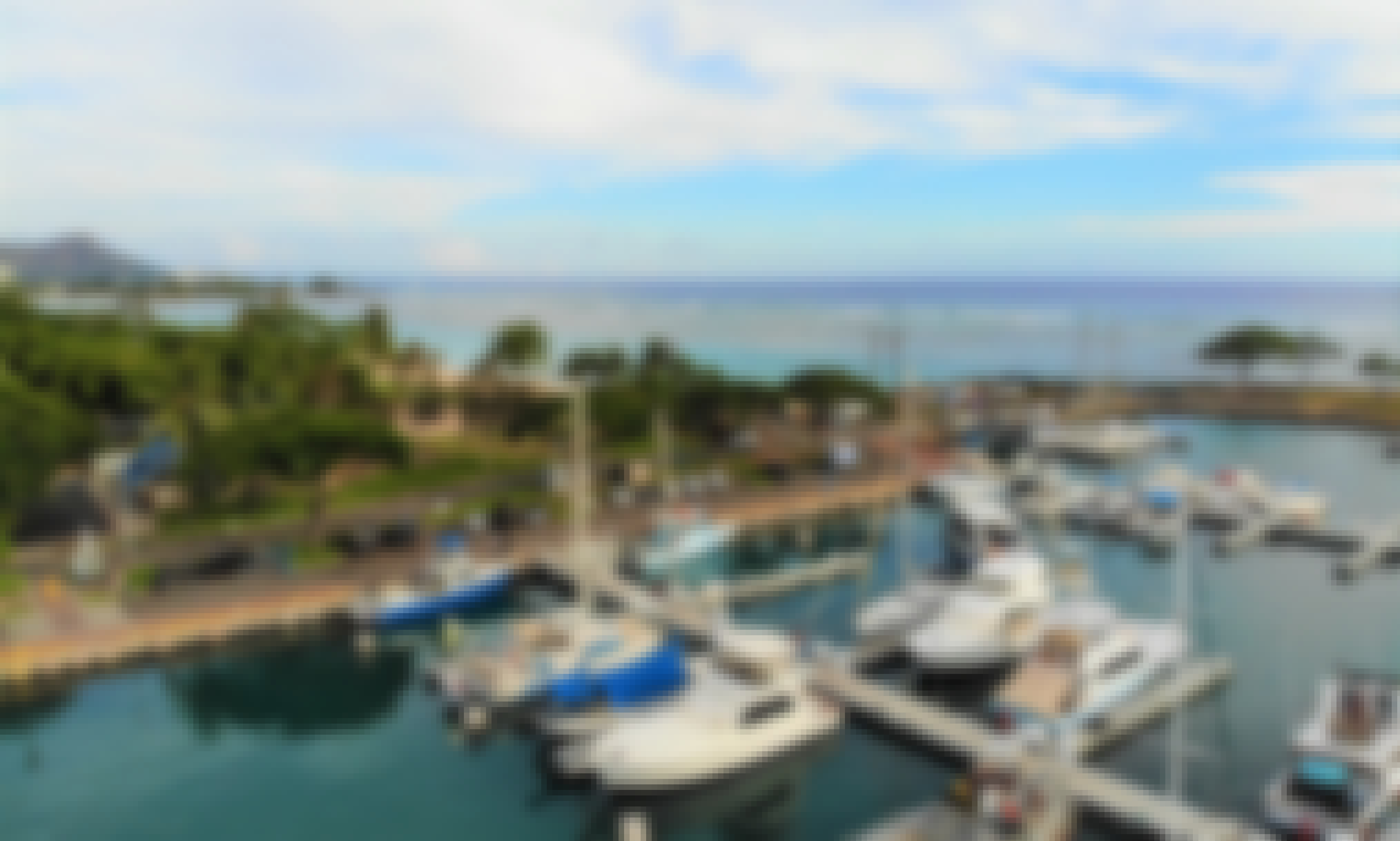 Stay on the Water with 46' Sport Fishing Yacht in Ala Moana / Free Parking!