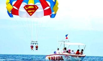 Parasailing Adventure in Malay, Western Visayas