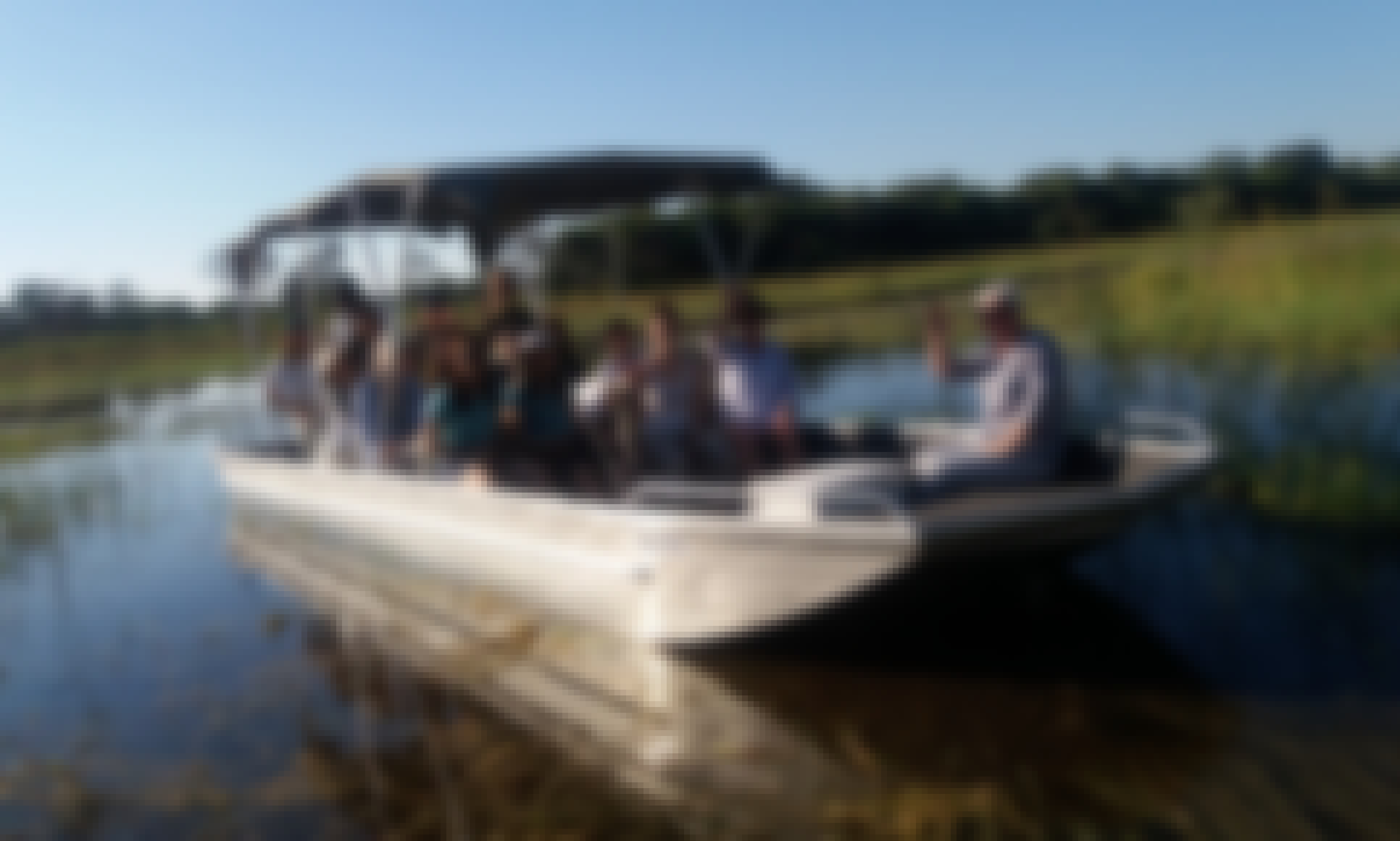 Private Boat - Wildlife Tour for 10 People in Maun, Botswana