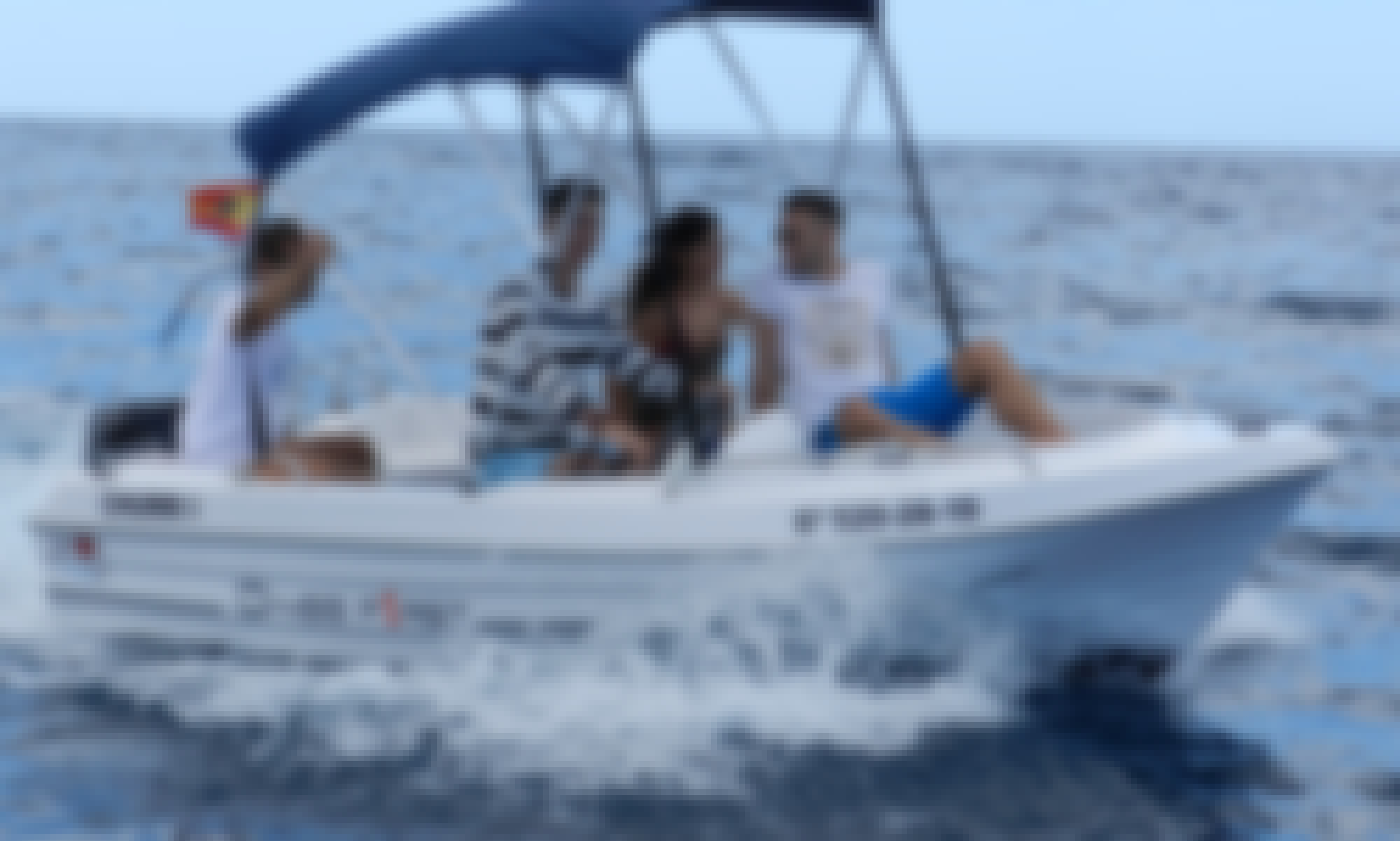 Rent this DIPOL D-400 F1RST Boat for 5 Guests in Puerto Colón, Costa Adeje Spain