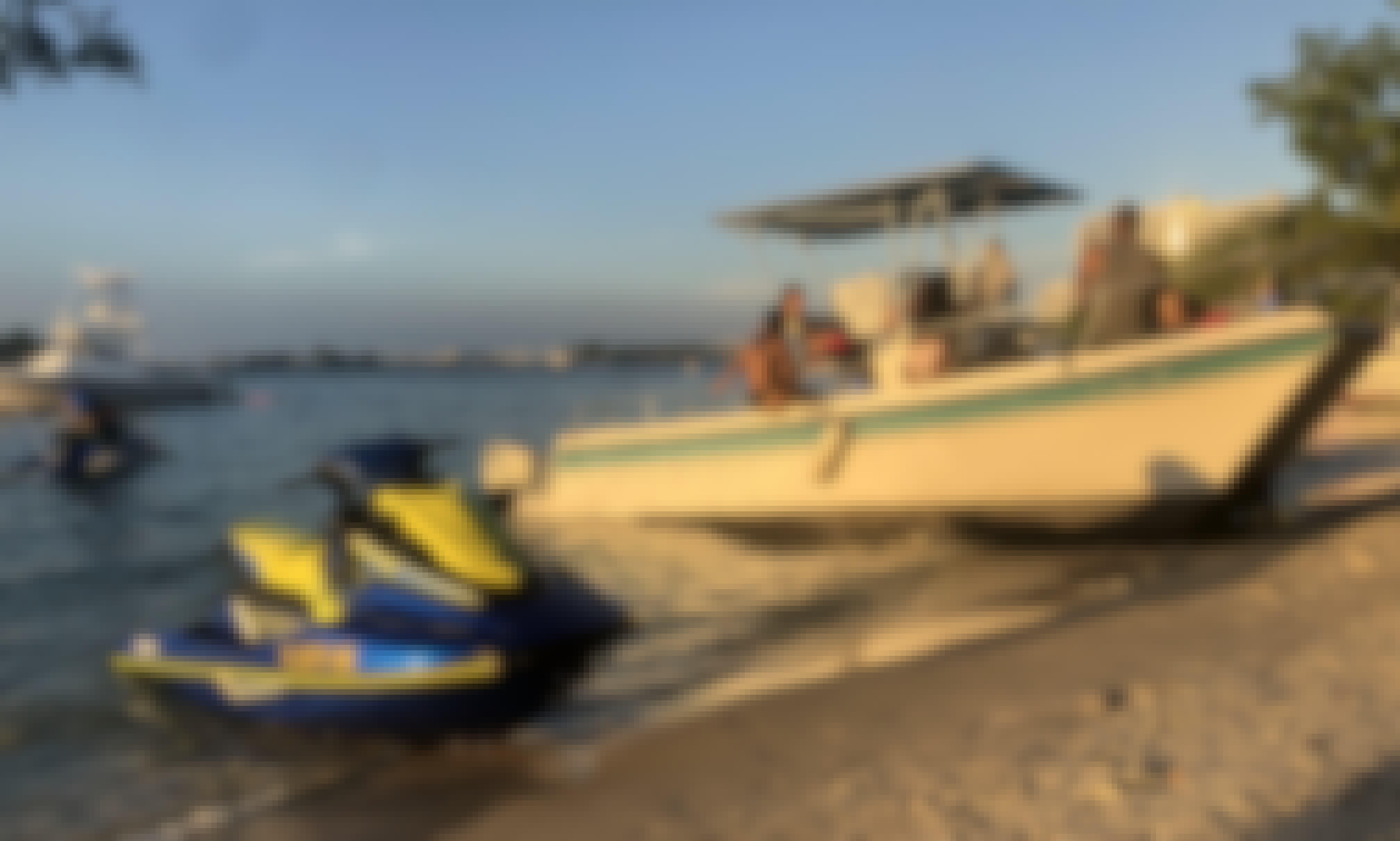 Take Miami Beach on this Beautiful Power Catamaran!!