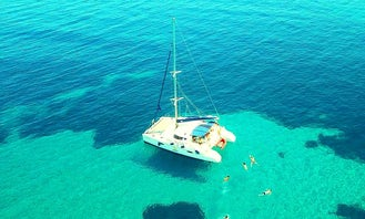Catamaran charting cruises Lavezzi 40 Halkidiki Sporades complex
