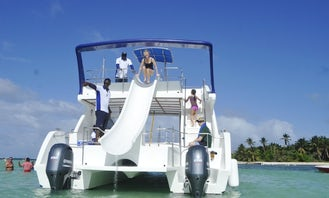 VIP 2 Levels Power Cruise!! Snorkel-Party Cruise-Slide-Pool! LUXURY EXPERIENCE VIP SELECTION EXCURSION