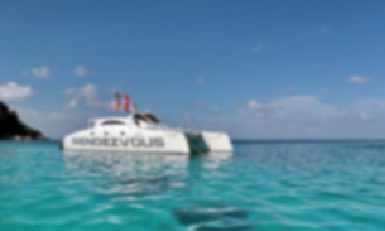 Power catamaran Rendezvous in Phuket,Thailand