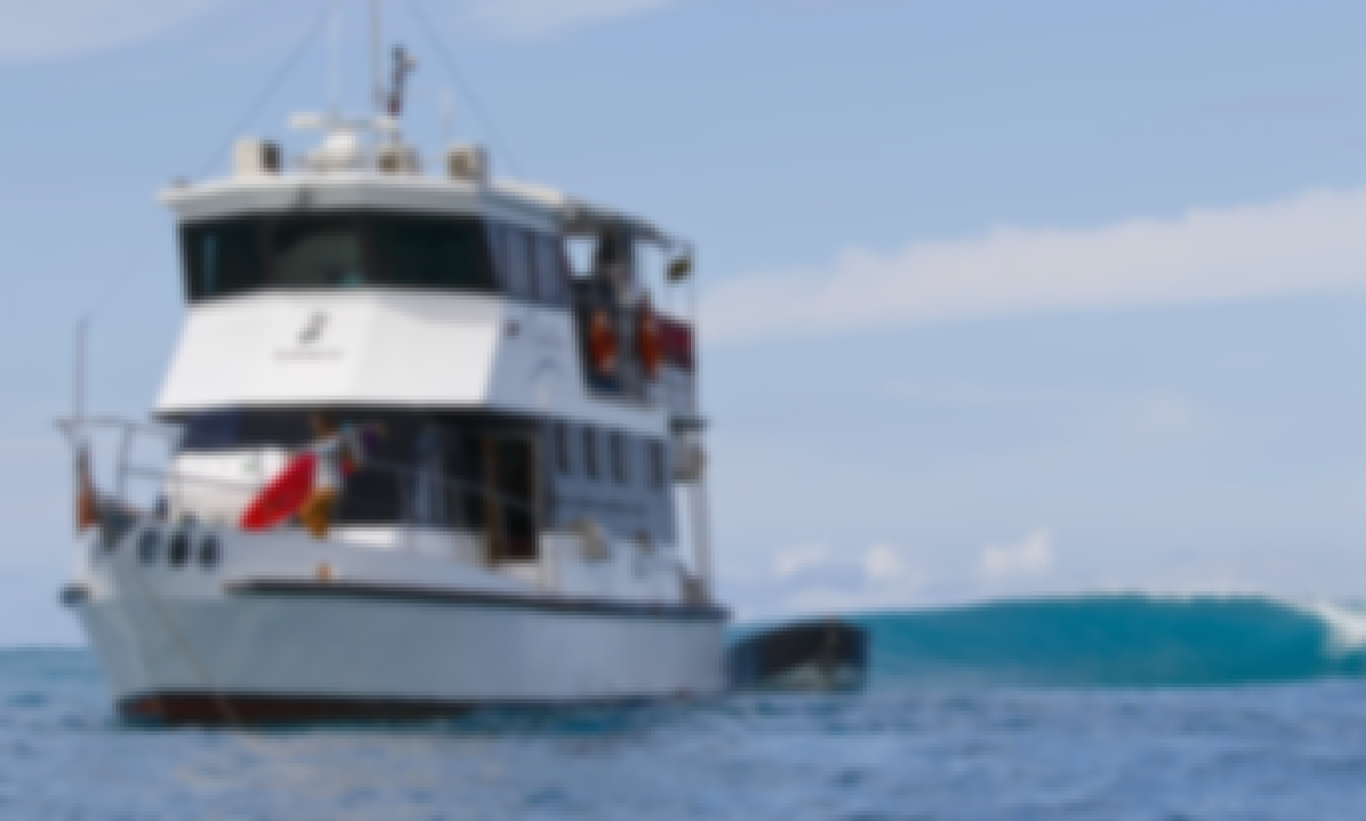 Enjoy Surf Charter in Padang, Indonesia on 59' Swell Lines Power Mega Yacht