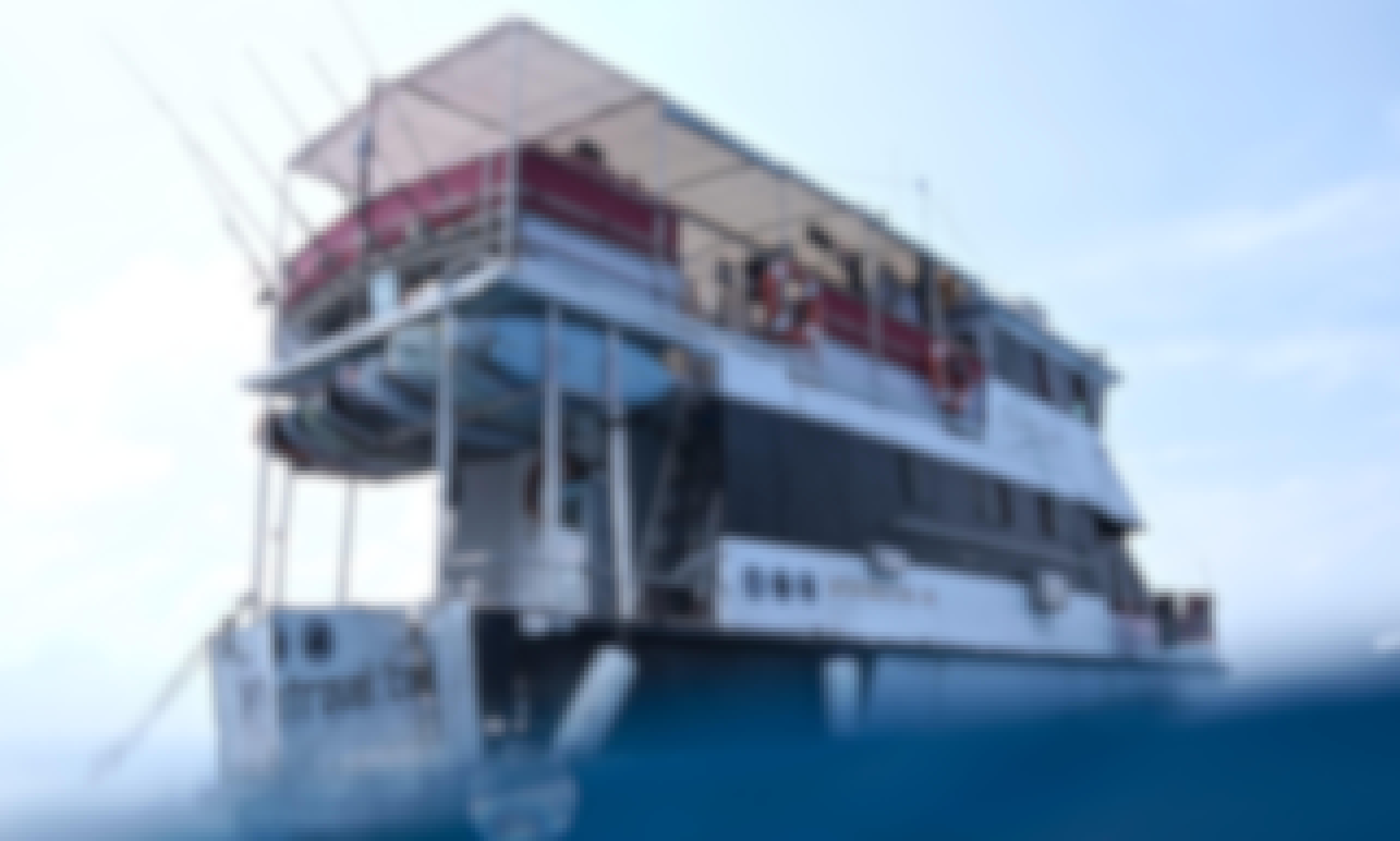 Enjoy Mentawai Surf Charter , Indonesia on 59' Swell Lines Power Mega Yacht