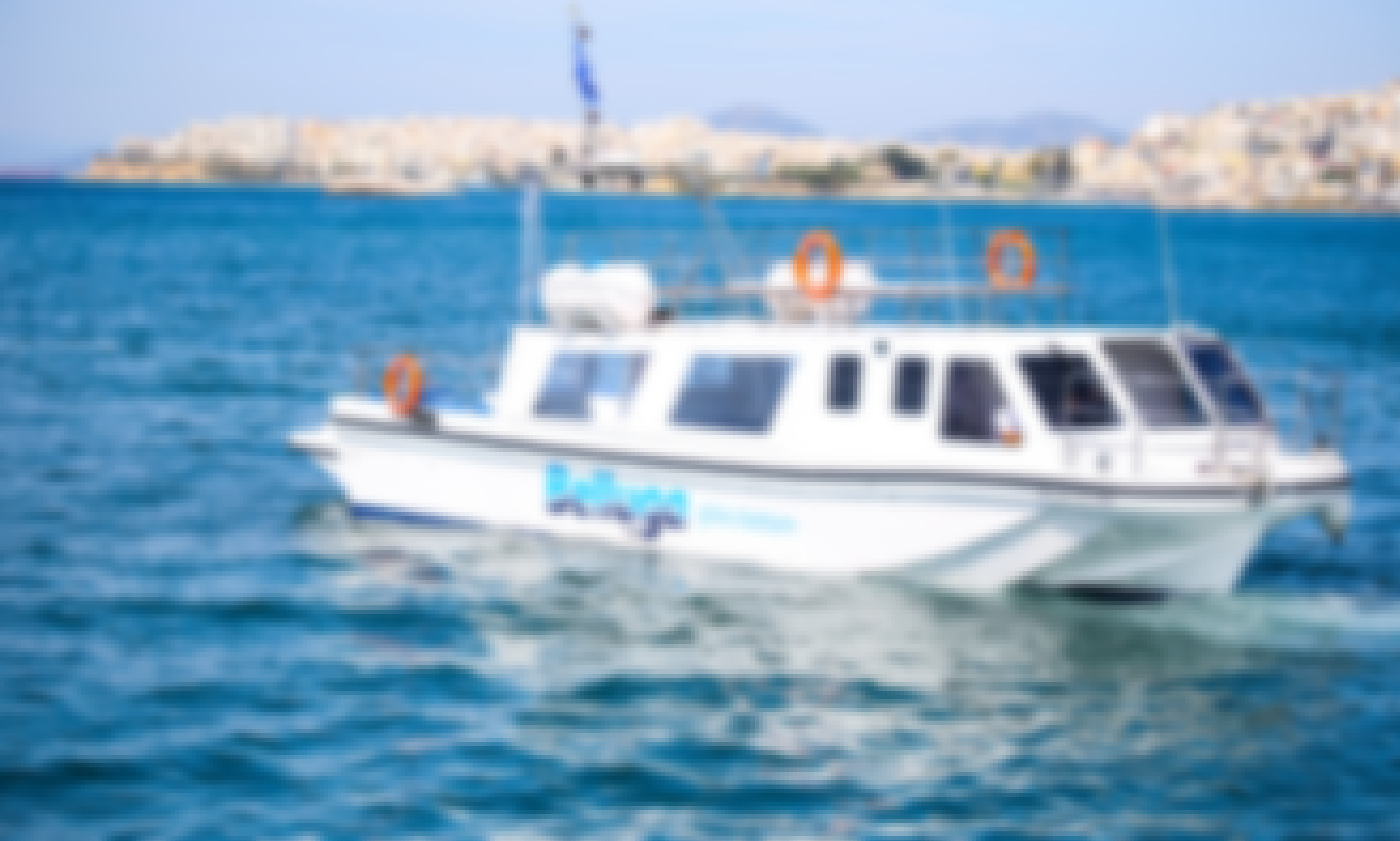 Charter this 45-Person Power Boat in Marina Kallitheas or Ports of Aegina / Poros / Hydra