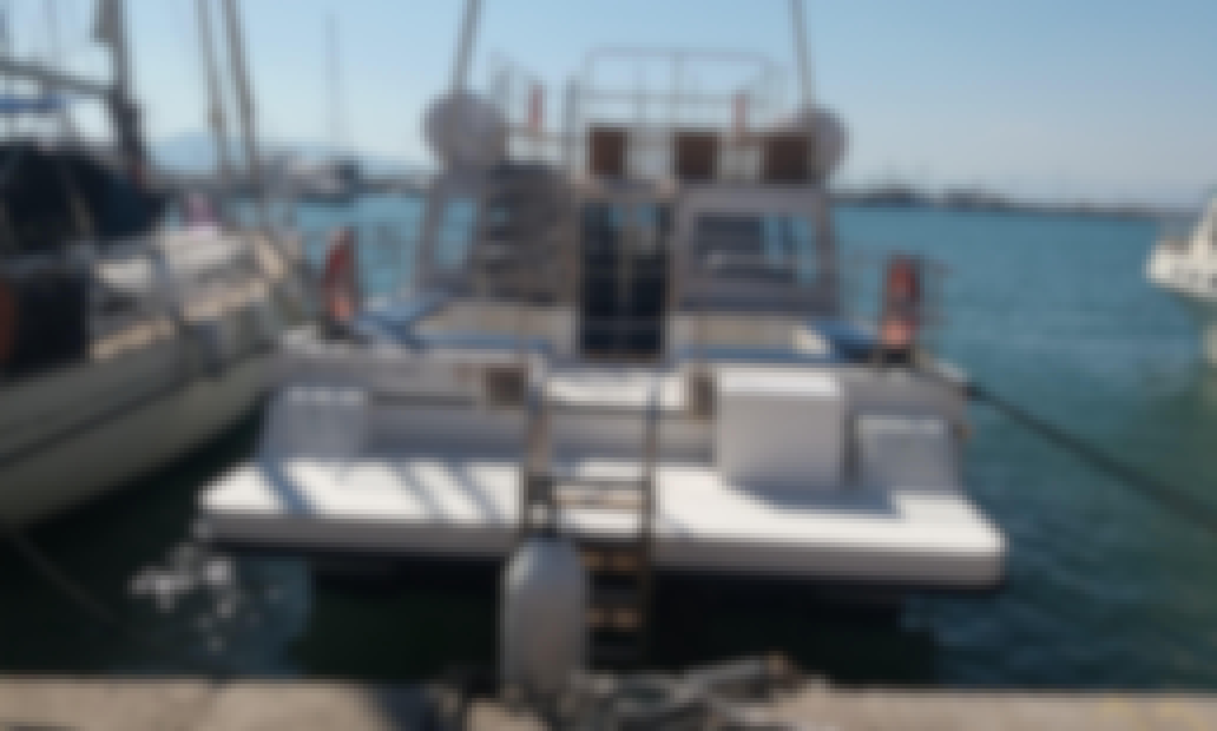 Charter this 45-Person Power Boat in Marina Kallitheas or Ports of Aegina / Poros / Hydra