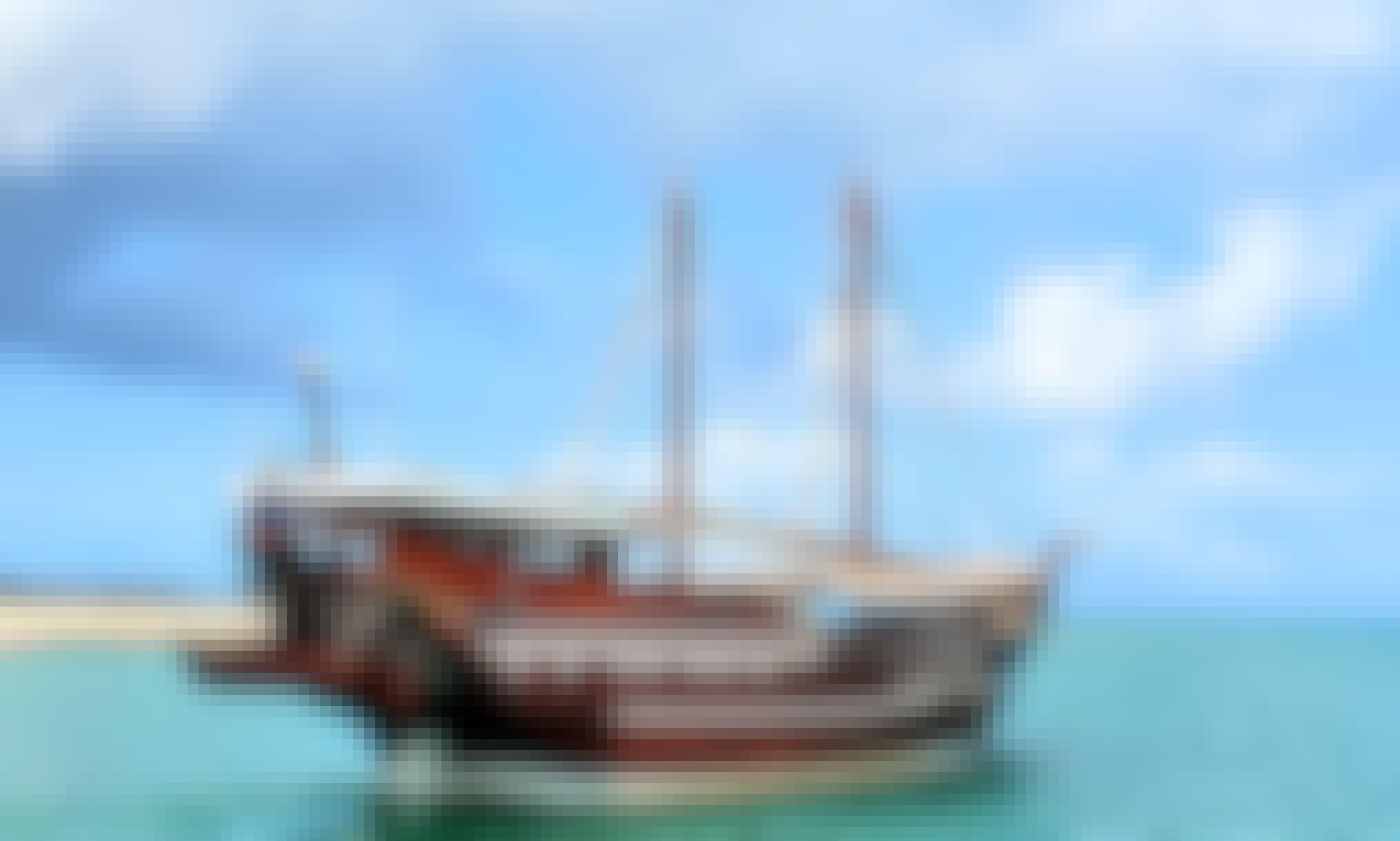 Explore Zanzibar, Tanzania Aboard a Tall Ship for Up to 200 People