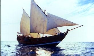 Explore Zanzibar, Tanzania Aboard an unique Ship for Up to 120 People