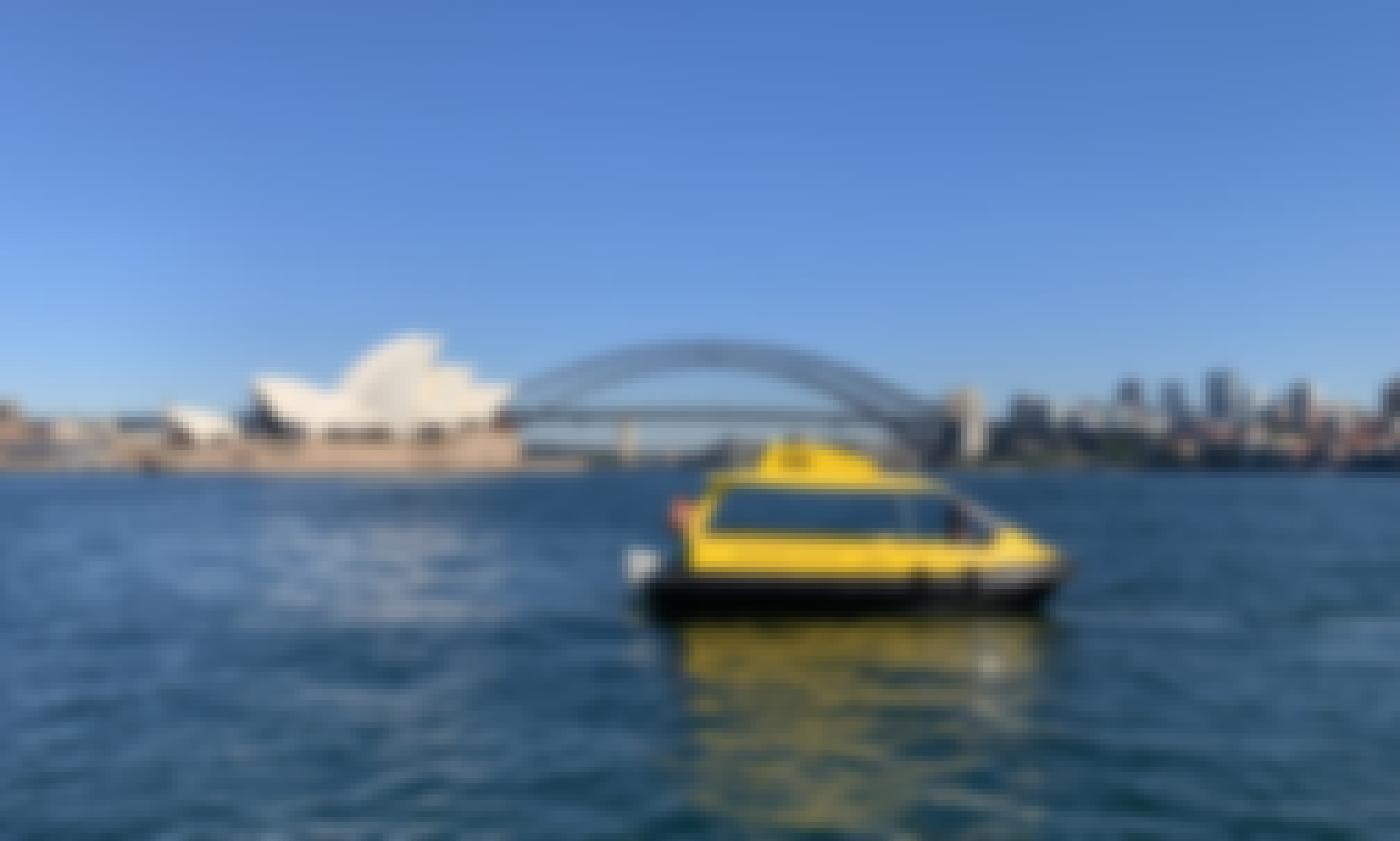 Sydney Harbour Water Taxi for up to 16 Passengers