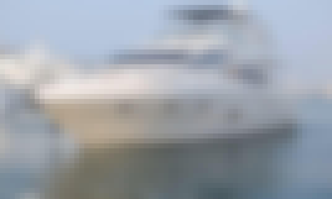 56' Majesty Power Mega Yacht Rental in Sheikh Zayed, Dubai