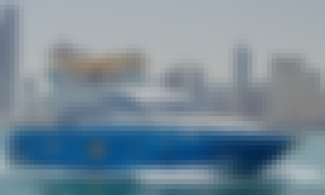 Book the 63ft Majesty Power Mega Yacht in Sheikh Zayed, Dubai