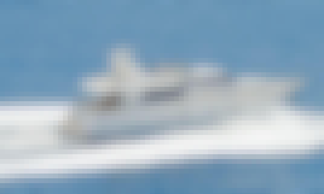 Book the 72ft San Lorenzo Power Mega Yacht in Sheikh Zayed, Dubai