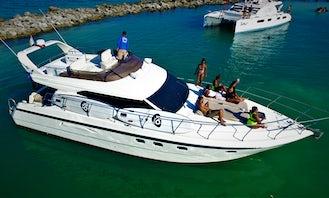 47' Azimut All-Inclusive - Playa del Carmen- Morning Charter