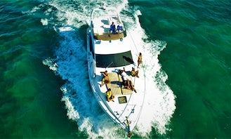 47' Azimut All Inclusive Charter - Playa del Carmen - Morning Charter