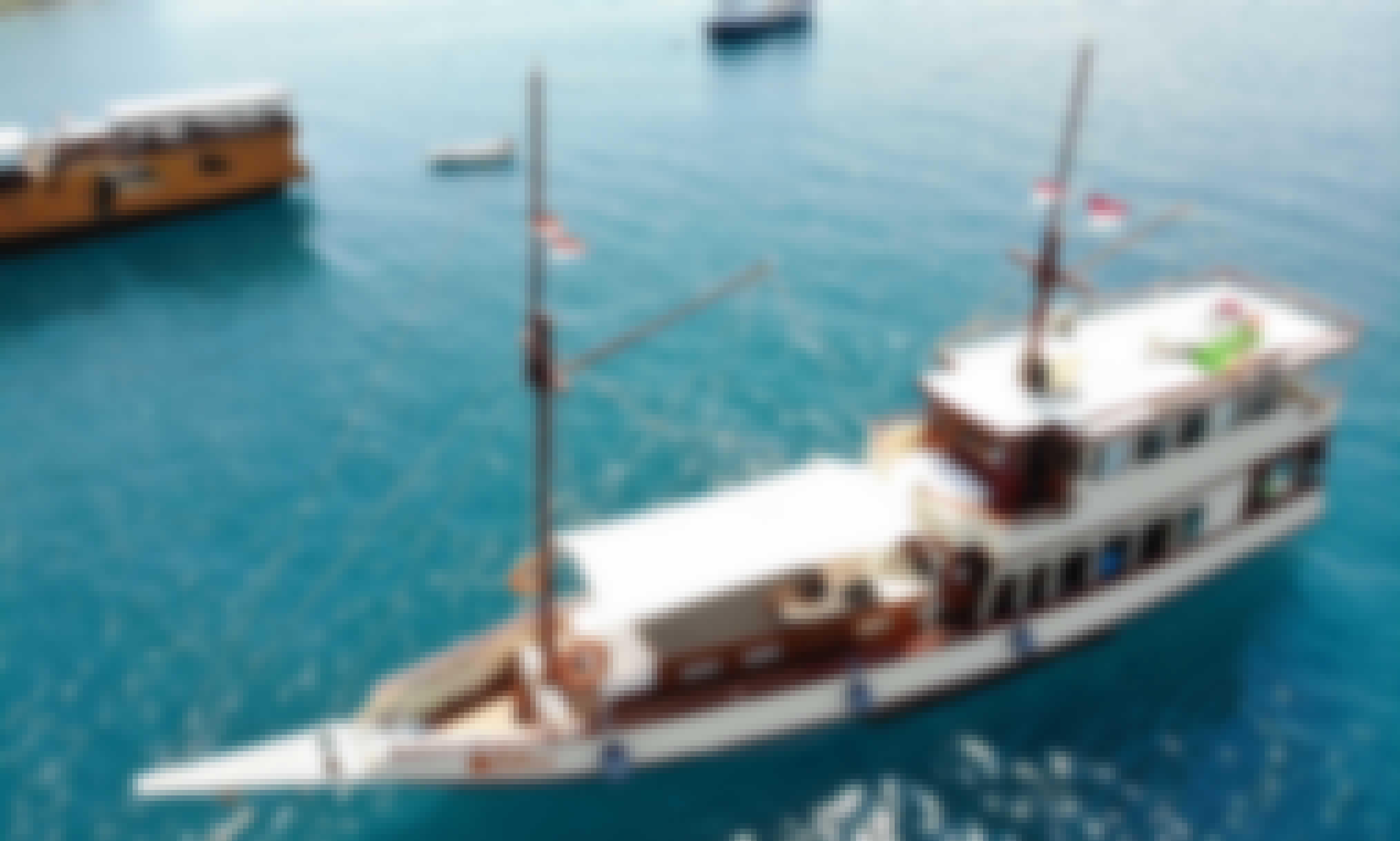 Wooden Phinisi Cruises on Komodo Islands