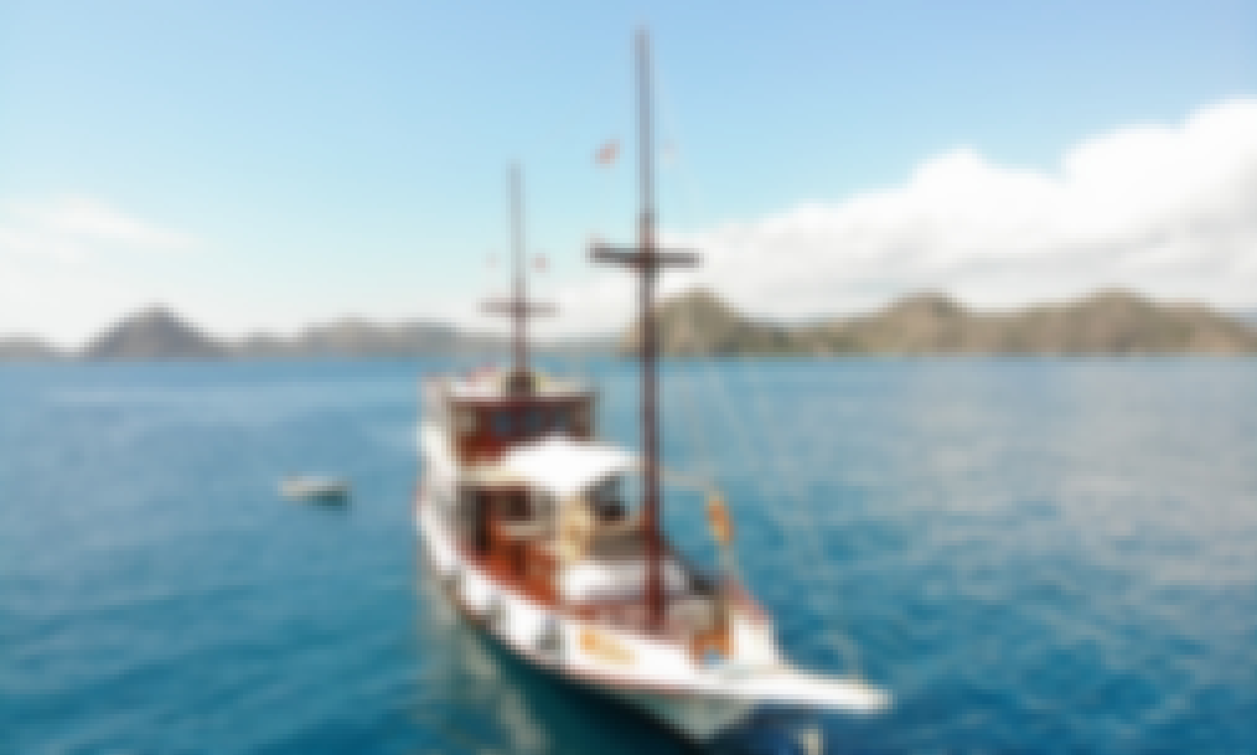 Wooden Phinisi Cruises on Komodo Islands