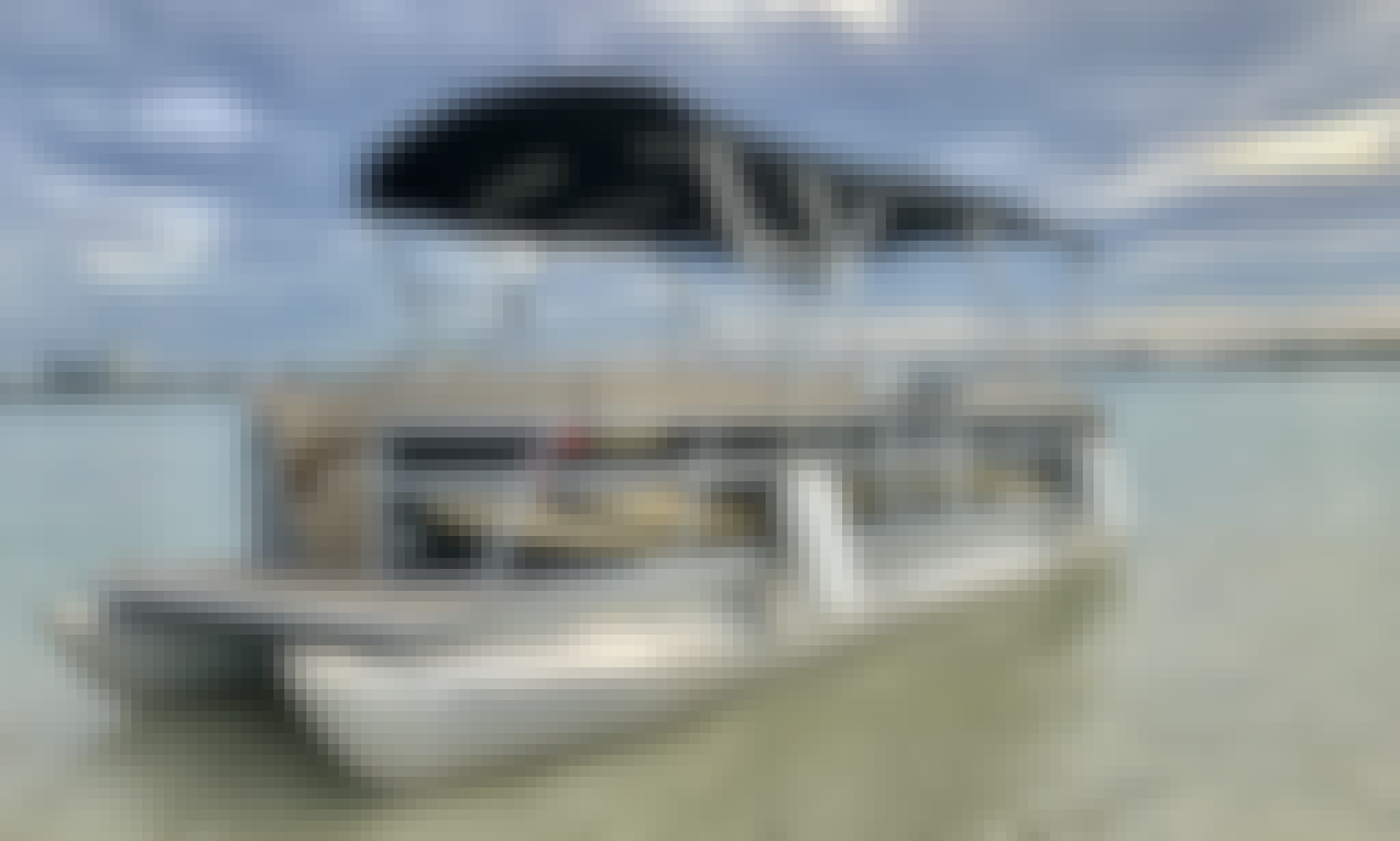 New Luxury Bentley Pontoon for 10 People in Miami Beach, Florida