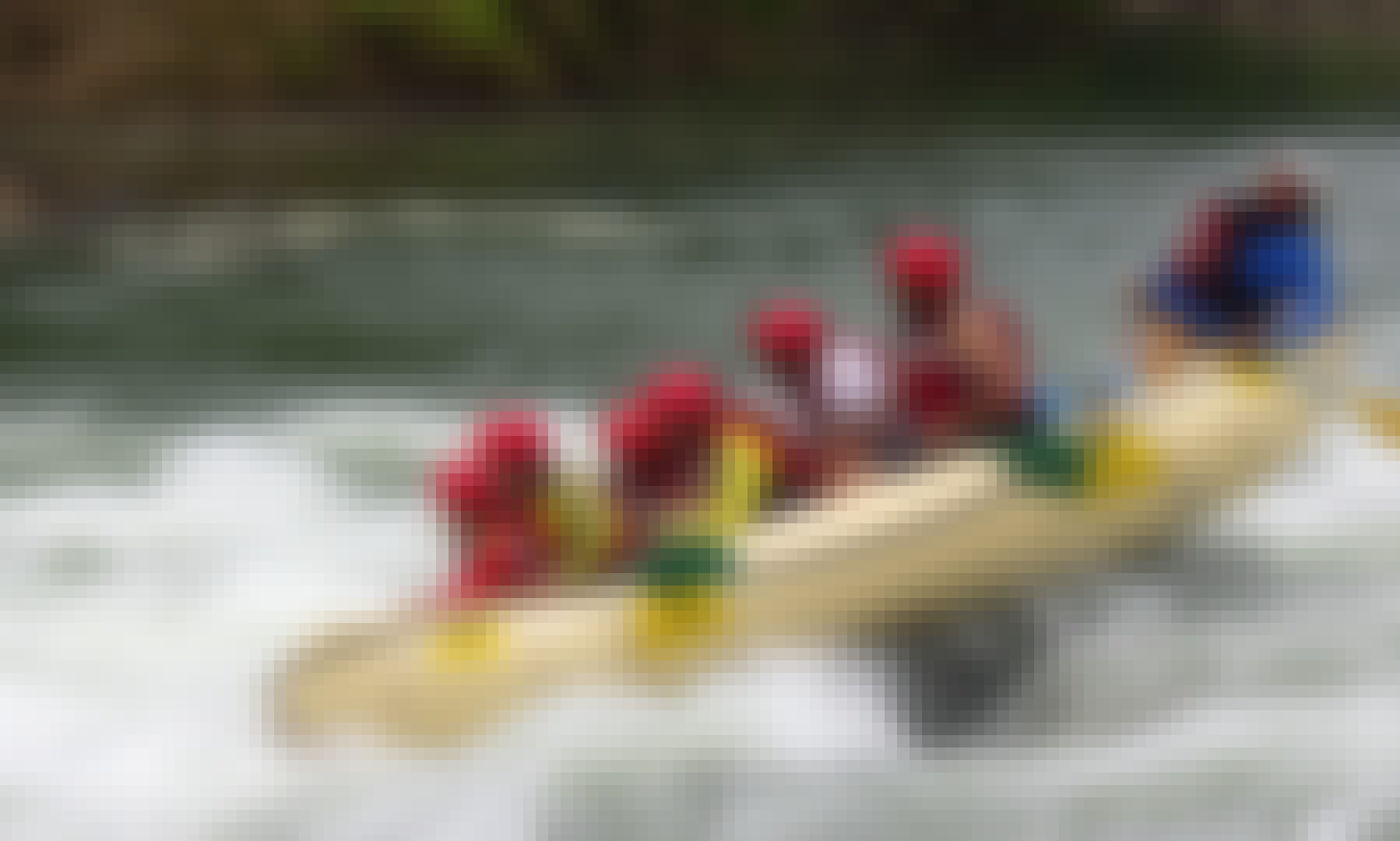 White Water Rafting on Cagayan de Oro River, Northern Mindanao, Philippines!