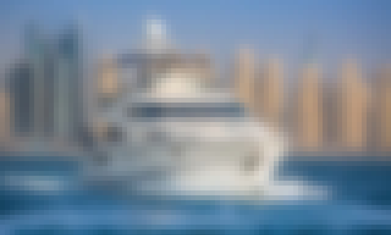 Charter A Luxurious 68ft Yacht in Dubai