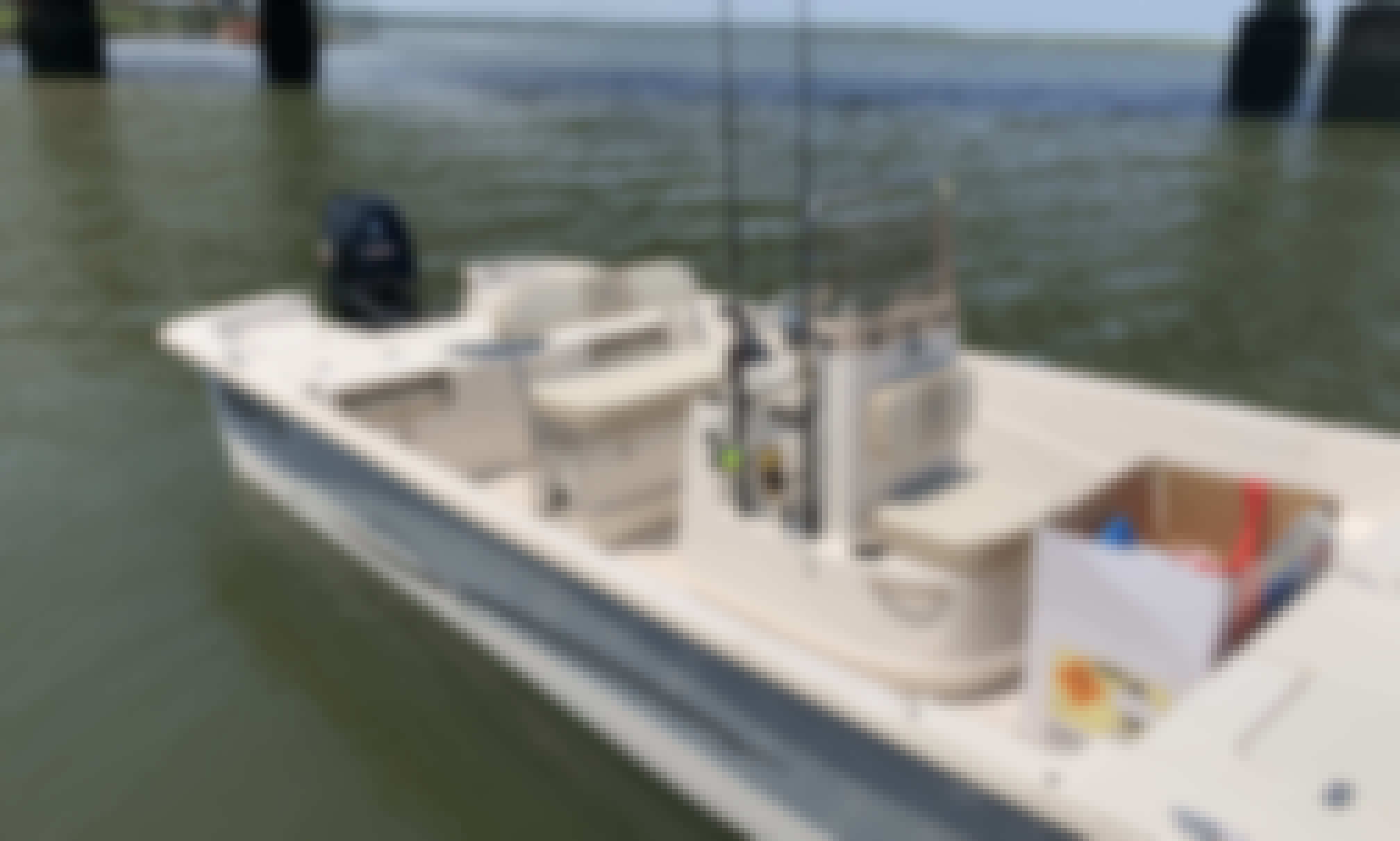 Carolina Skiff DLV218 Center Console Rental in Bluffton