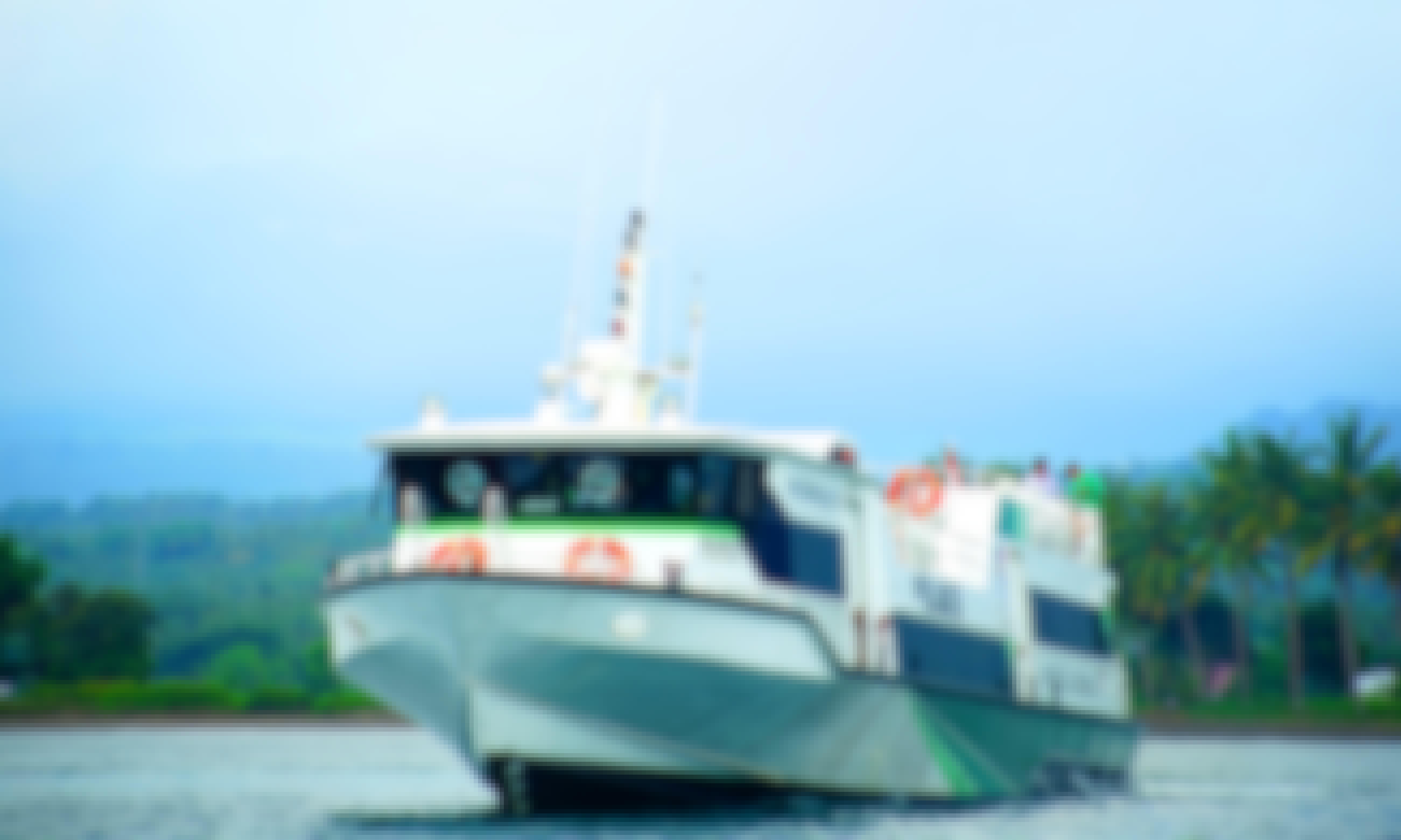 Explore Bali, Indonesia Aboard This 50-Person Passenger Boat