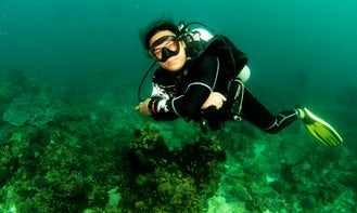 High End Scuba Diving Courses with Certified Instructors in Boracay Island, Philippines!